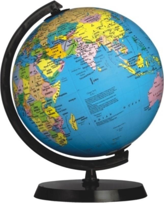 Globus 808 A Desk & Table Top Political World Globe(Blue)
