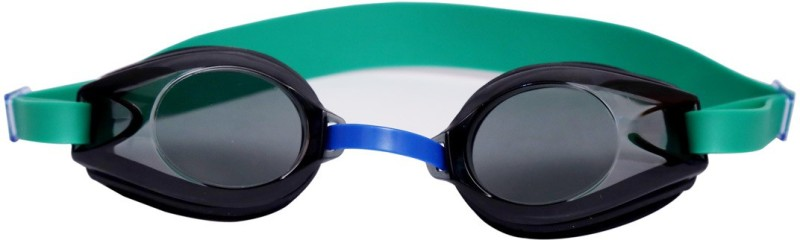 Viva Sports Viva 45 Swimming Goggles(Black, Green)