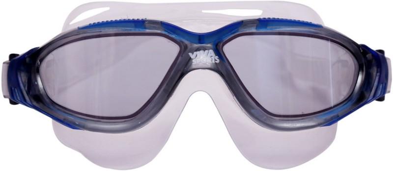 Viva Sports Viva 410 Mask Swimming Goggles(Blue)