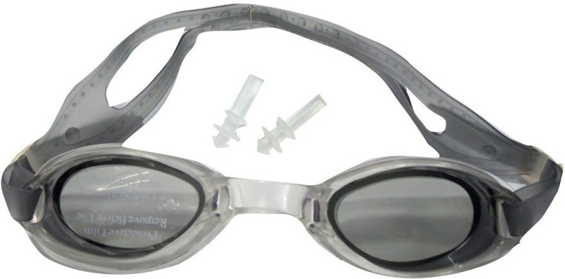 LionsLand Cool Goggle Swimming Goggles(Black, Grey)