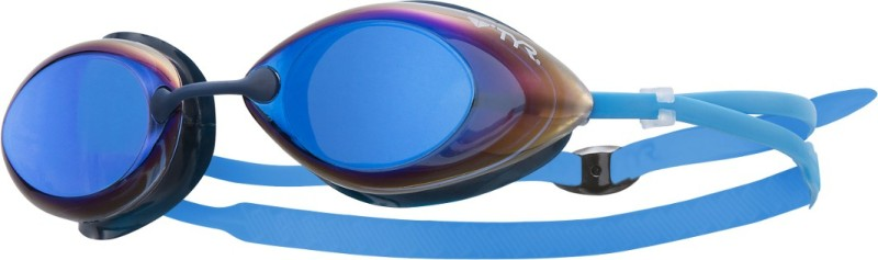 TYR Tracer Racing Mirror Swimming Goggles(Blue)