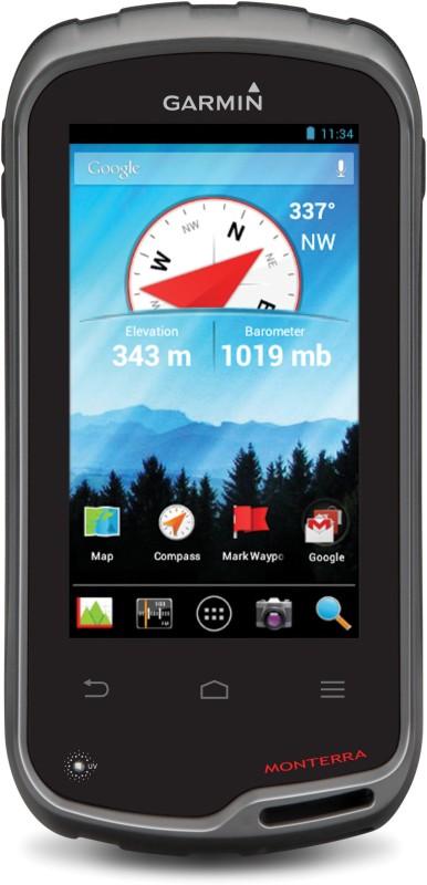 Garmin Monterra GPS Device(Black)