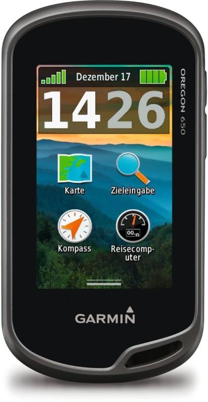 Garmin Oregon 650 GPS Device(Black)