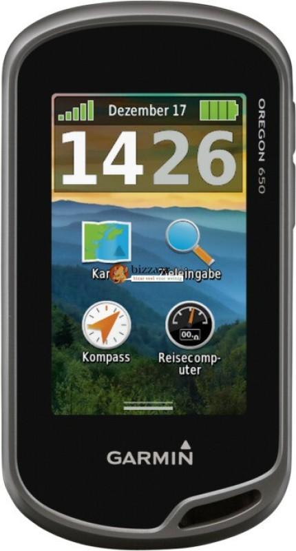 Garmin Oregon 650 GPS Device(Grey, Black)