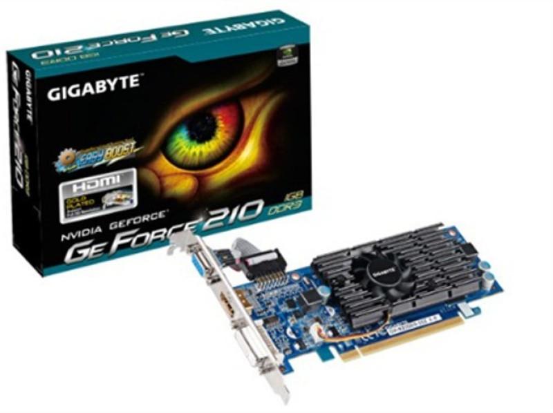 Gigabyte NVIDIA GeForce 210 1 GB DDR3 Graphics Card(Black/Blue/Green)