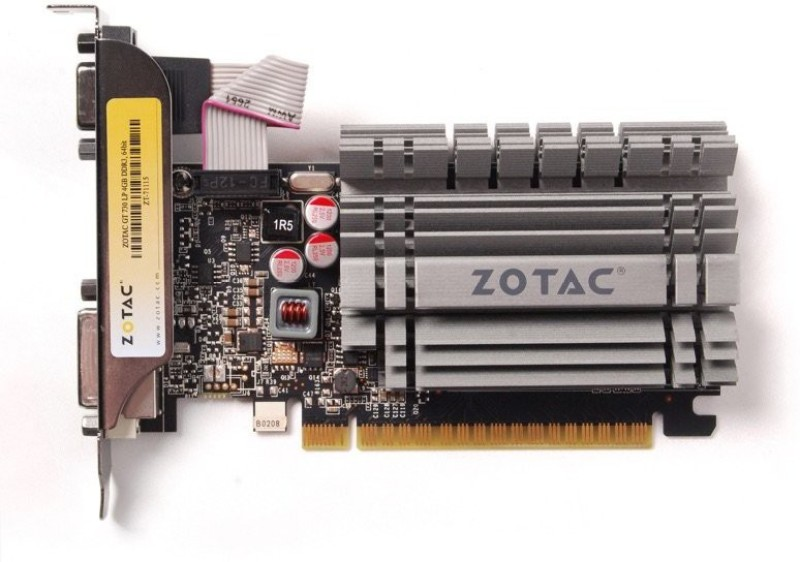 ZOTAC NVIDIA GT 730 4 GB DDR3 Graphics Card
