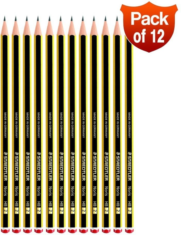 Staedtler Graphite 2HB Pencil(Pack of 12)