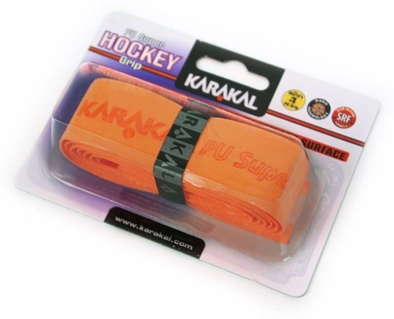 KARAKAL PU SUPER HOCKEY Smooth Tacky(Orange, Pack of 1)