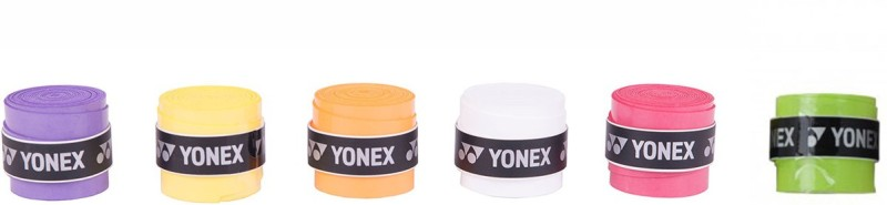 Yonex AC 102 EX Smooth Tacky Grip(Multicolor, Pack of 6)