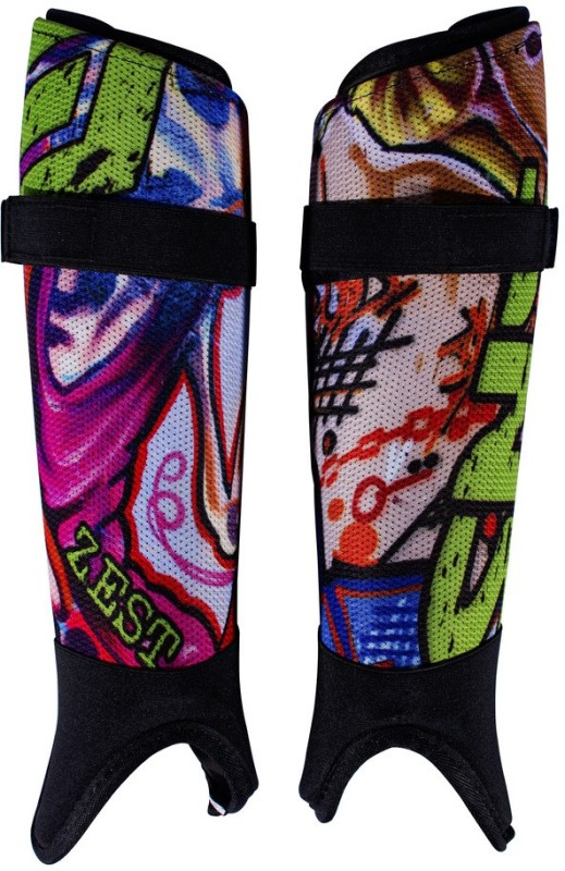 SNS Zest Hockey Shin Guard(Multicolor)