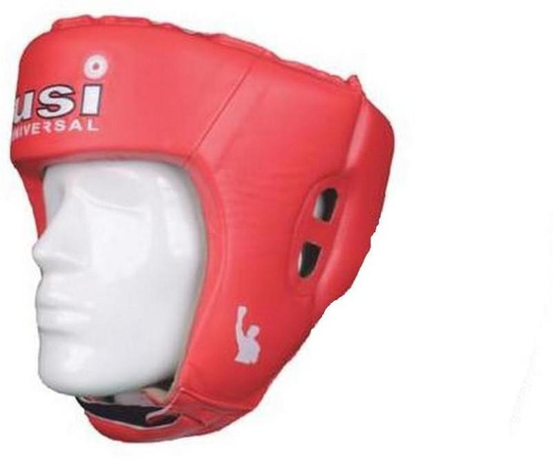USI Lite Contest Boxing Head Guard(Red)