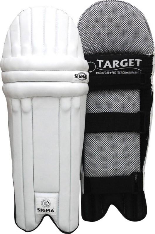 Sigma Target Men's (39 - 43 cm) Batting Pad(White, Men)