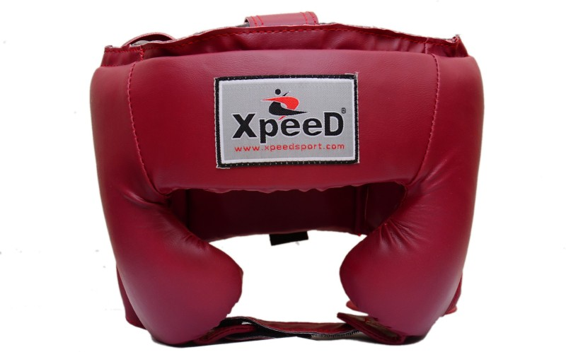 Xpeed Spar Boxing Head Guard(Red)