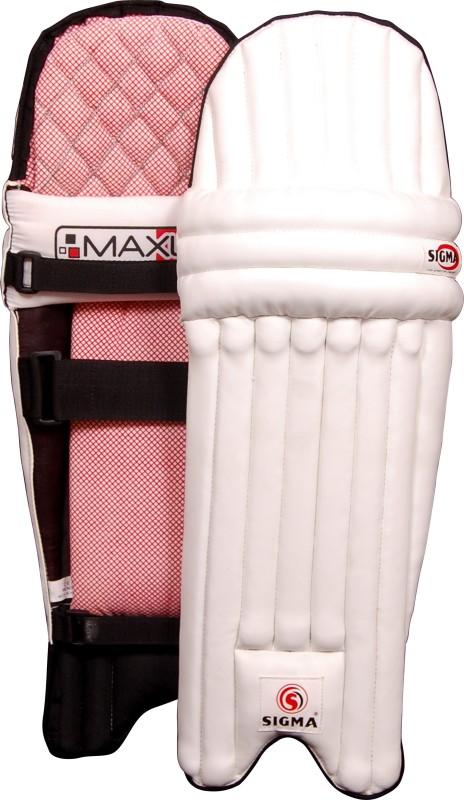 Sigma Maxlite Small Boys (30 -32 cm) Batting Pad(White, Junior)