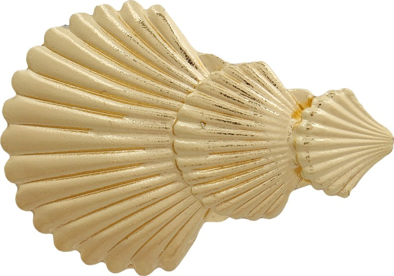 Blueberry Shell Motif Hair Clip(Gold) Shell Motif