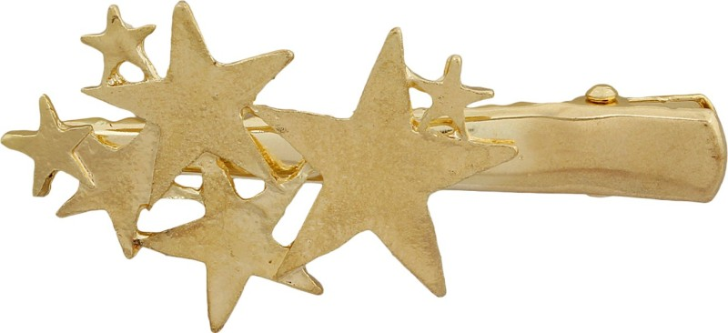 Blueberry Star Cluster Hair Clip(Gold) Star Cluster