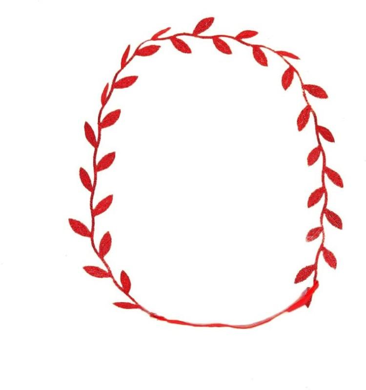 DE RENE Roman Goddess Leaf Head Band(Red)