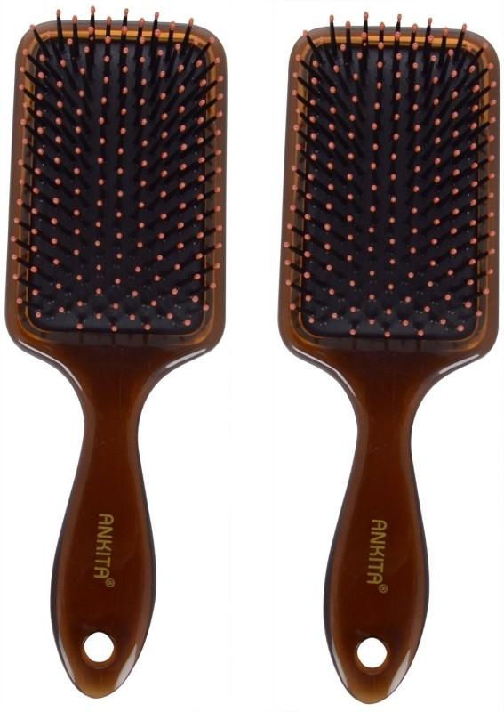 Ankita Mini Paddle Brush AP144( Set of 2 Pc )