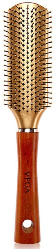 Vega Premium Collection Hair Brush - Flat (Golden)