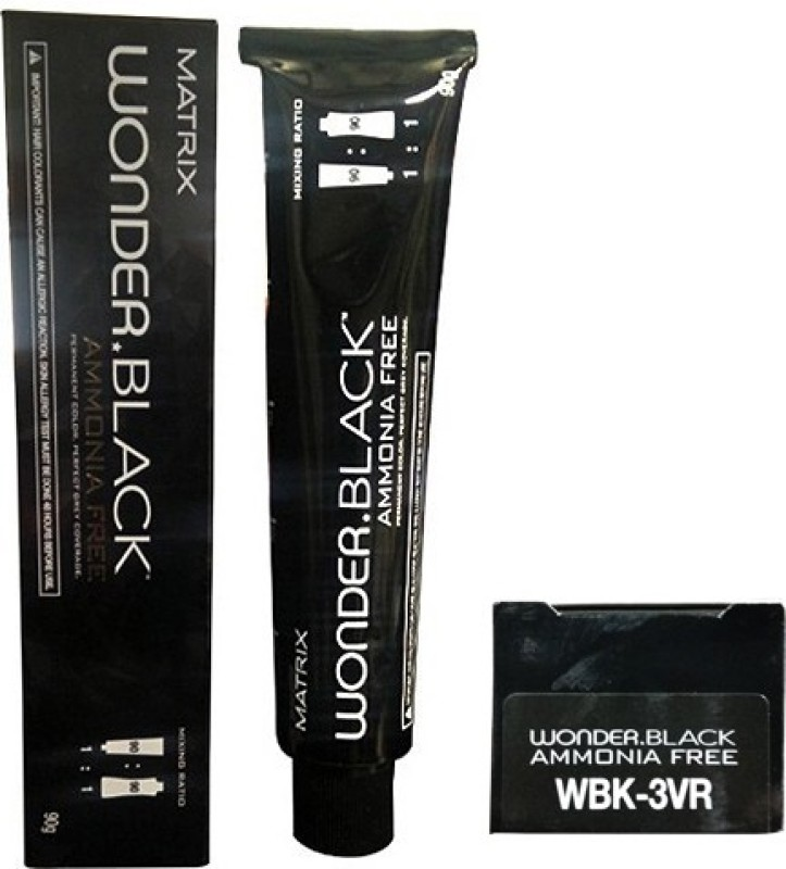 Matrix Wonder Black Permanent Hair Color(WBK-3VR)