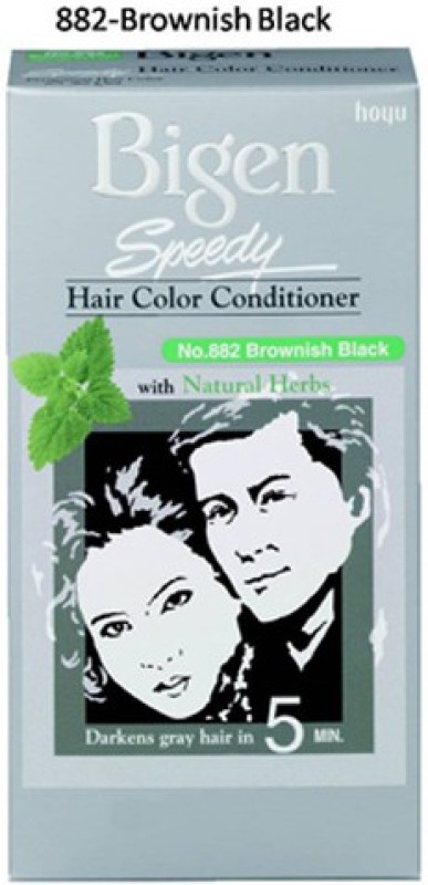 Bigen Speedy Color Hair Color(Brownish Black)