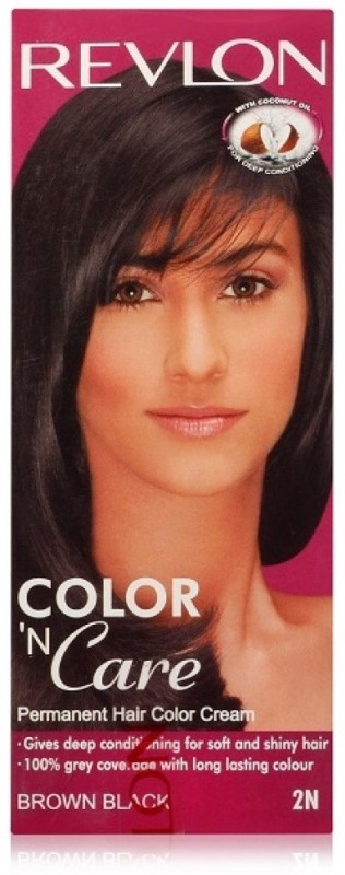 Revlon Color N Care Hair Color(Brown Black 2N)