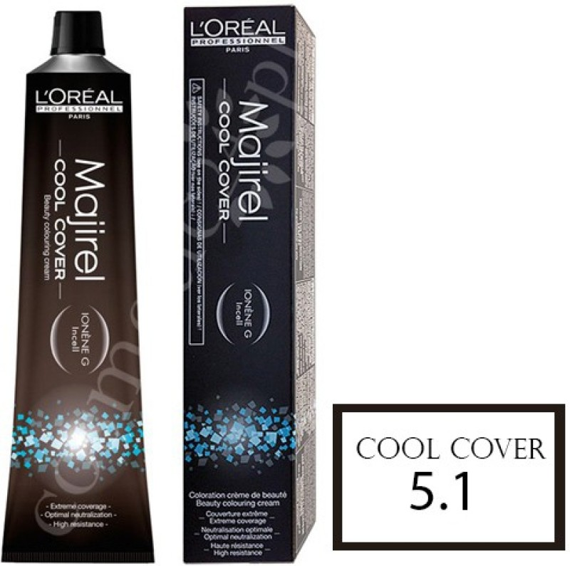 LOreal Professionnel Majirel Cool Cover Hair Color(5.1 Light Ash Brown)