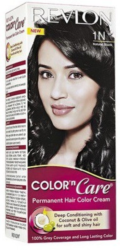 Revlon Color N Care 1N Natural Black Hair Color(Natural Black)
