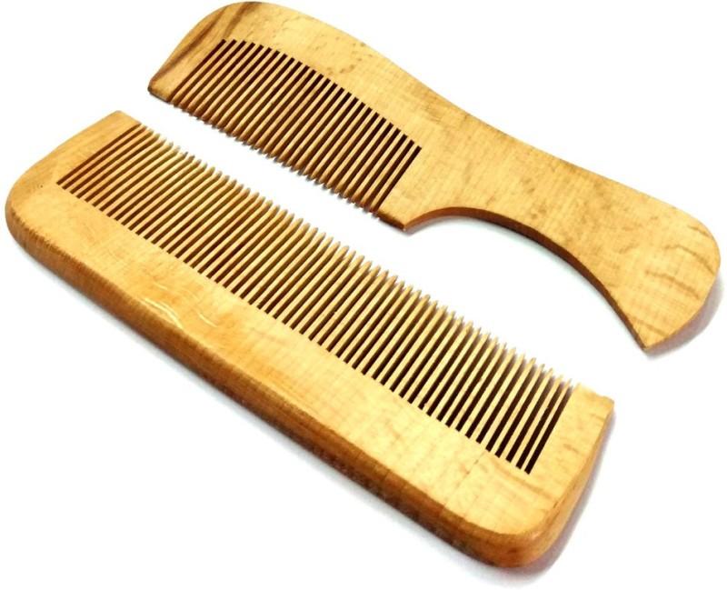 A Shreeparna Wooden Comb set of 2