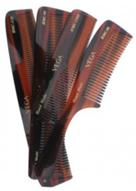 VEGA Hand Made Comb Set (Pack of 4)