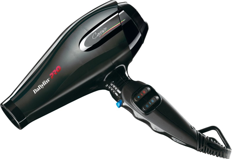 BaByliss Pro 6510IE Hair Dryer(2400 W, Black)