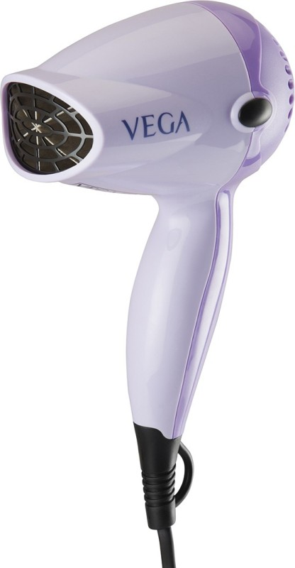 Vega Compact Desire 1200 VHDH-01 Hair Dryer(Purple)