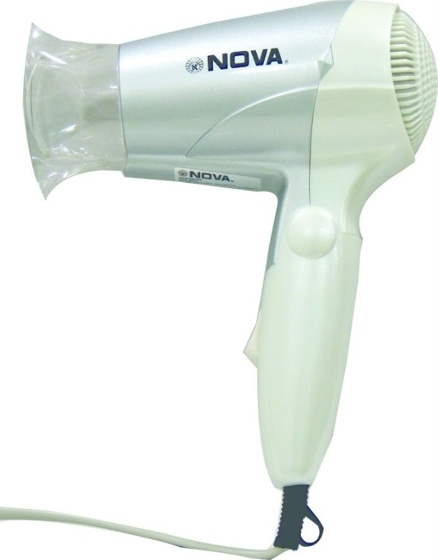 Nova Foldable NHD-2807 Hair Dryer(1000 W, White)