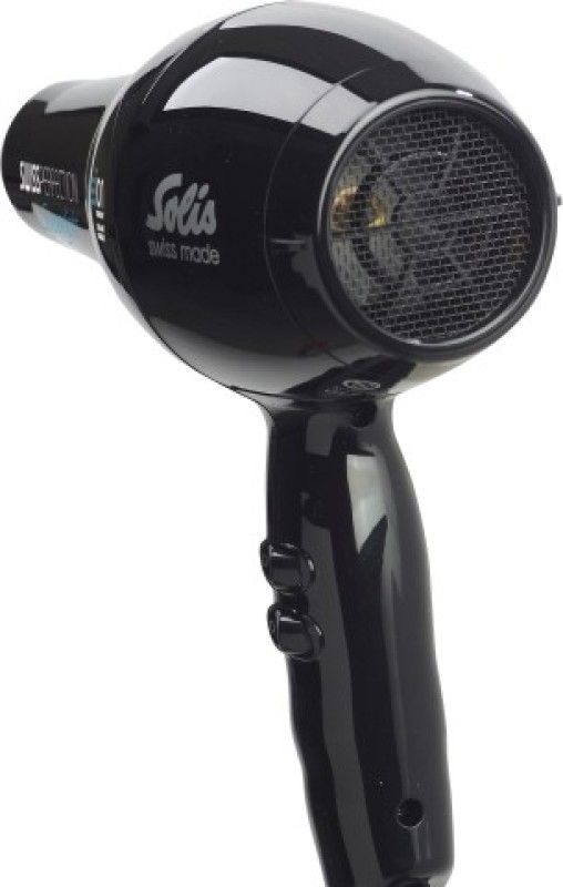 Solis Swiss Perfection 440 440b Hair Dryer(2300 W, Black)