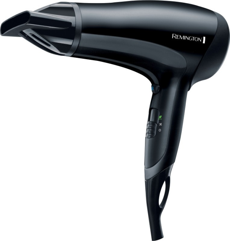 Remington POWER DRY 2000 D3010 Hair Dryer(2000 W, Black)