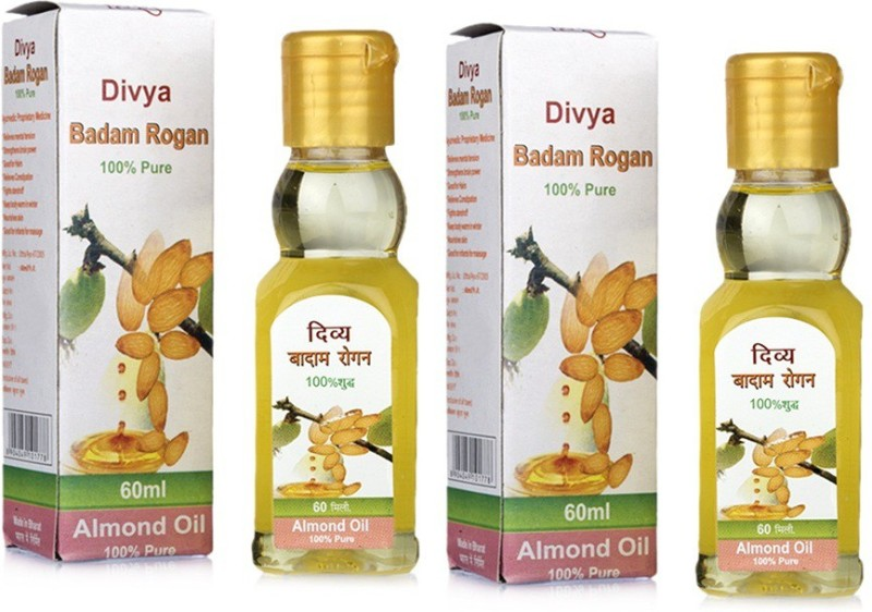 Patanjali divya badam rogan Hair Oil(120 ml)