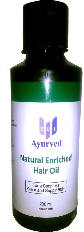 BUI Ayurved Natural Enriched  Hair Oil(200 ml)