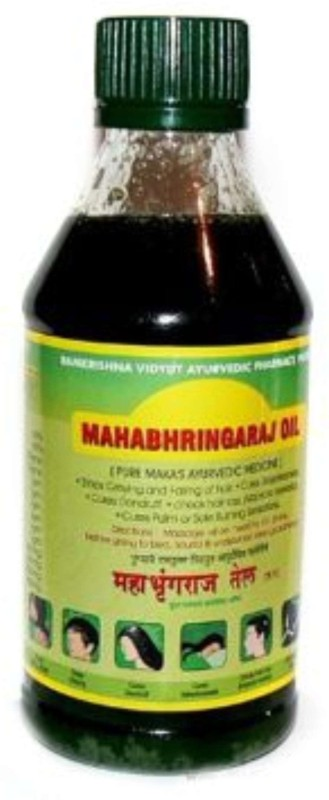 Mahabhringraj regrowth Hair Oil(300 ml)