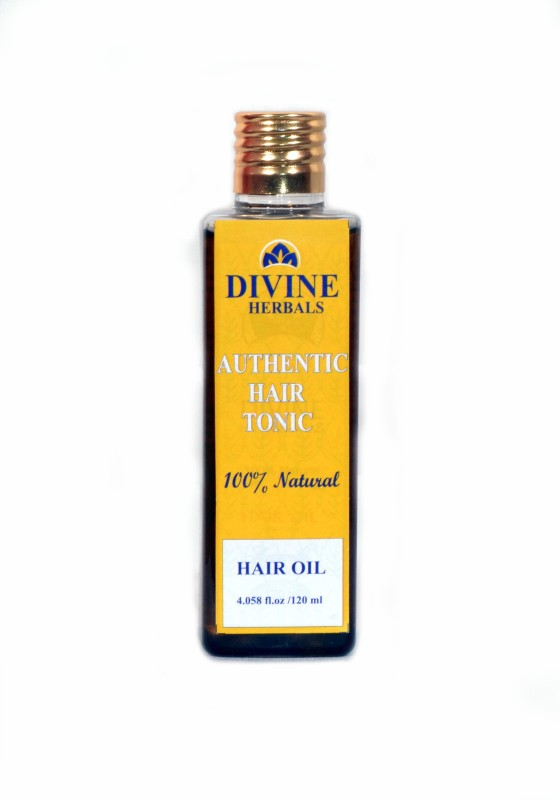 Divine Herbals Authentic Hair Oil(120 ml)