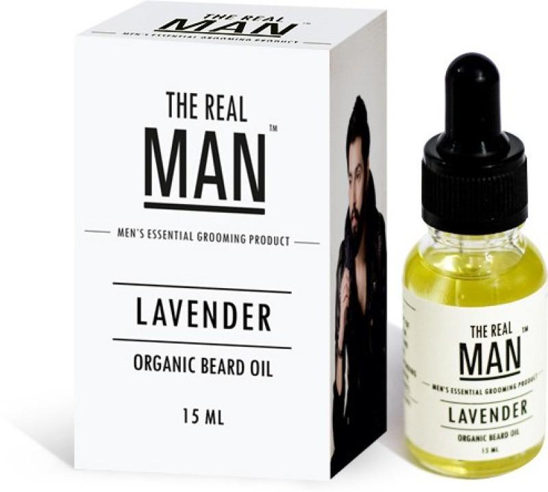 The Real Man Organic Beard Oil Lavender Hair Oil(15 ml)