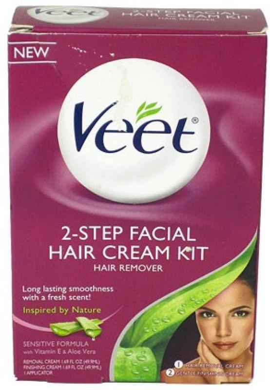 Veet Facial Hair Remover Cream Kit Cream(49.9 ml)