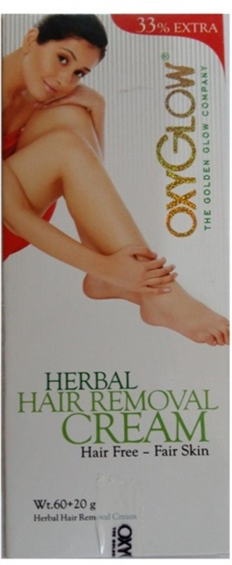 Oxyglow Herbal Hair Removal Cream, Pack of 2, Cream(160 g)