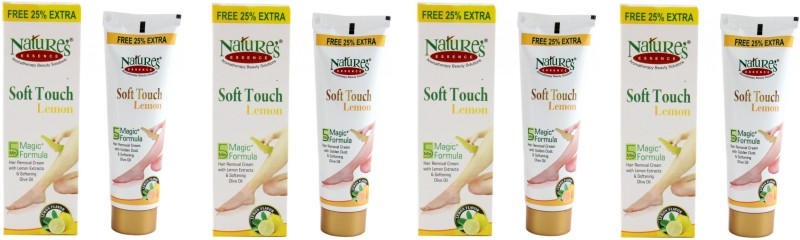 Natures Essence Soft Touch Lemon Hair Removal Cream 30 Gram 4Pcs Cream(120 g)
