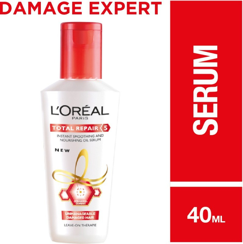 LOreal Paris Total Repair 5 Smoothening And Repairing Serum(40 ml)