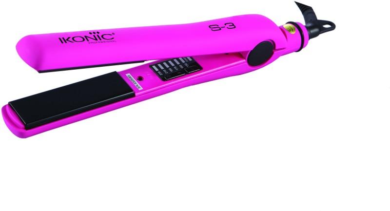 Ikonic Ceramic Hair Straightener(Pink)