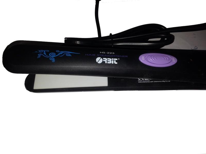 Orbit HS-223 Hair Straightener(Black)