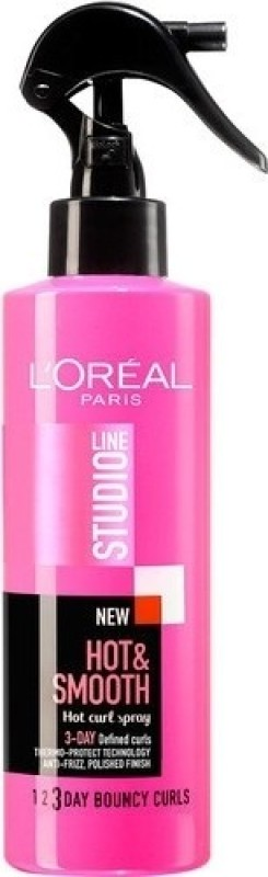 L'Oreal Paris Studio Line Hot and Smooth Spray 3day Defined Curls Spray(200 ml)