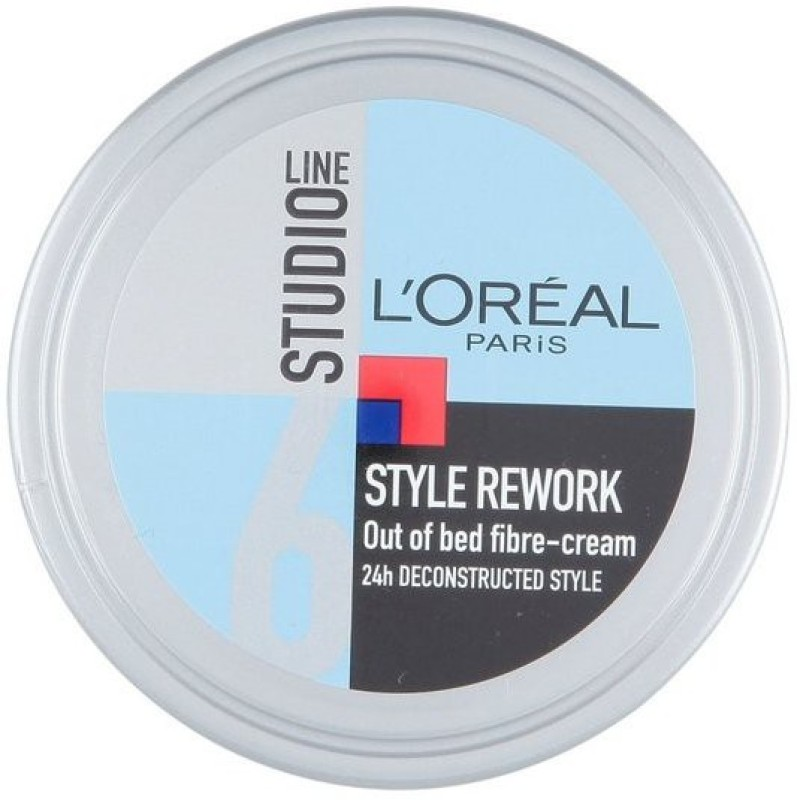 L'Oreal Paris Style Rework Out Of Bed Fibre-Cream Hair Styler