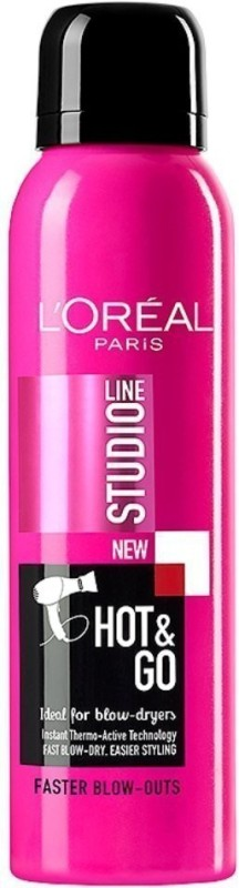 L'Oreal Paris Studio Line Hot & Go Fast Blow Dry Spray Hair Styler