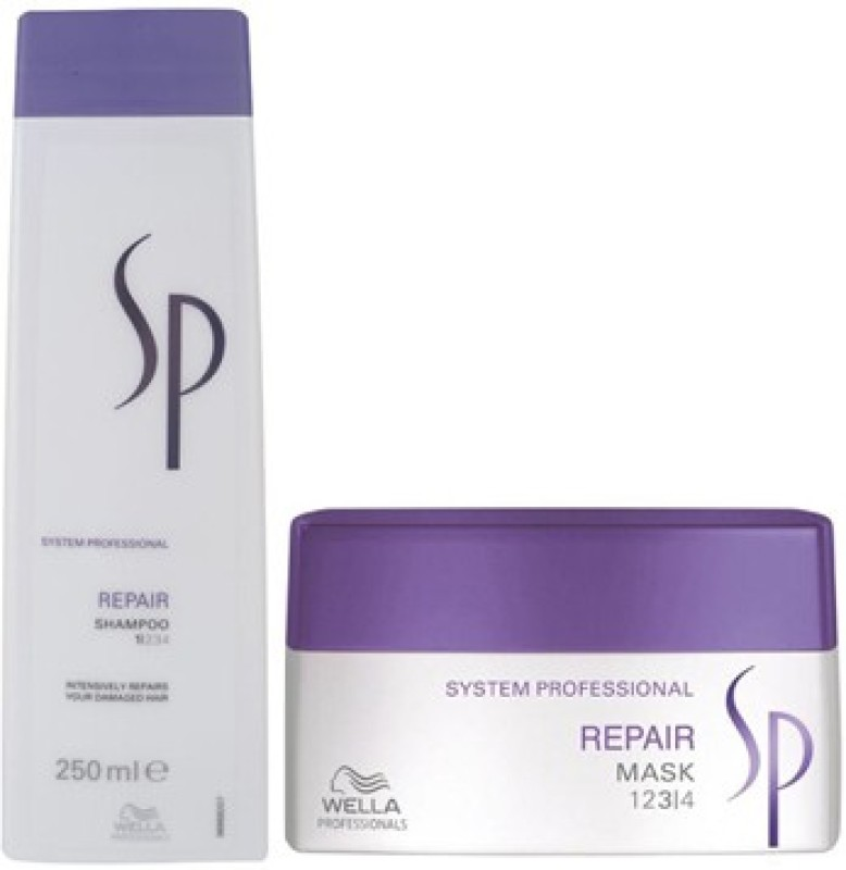 Wella Professionals Professional SP Repair Shampoo & Mask Combo Pack(450 ml)